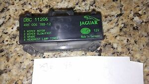 1993 jaguar xj6 viper, spare, headrest control module