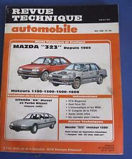 Revue technique  RTA 491 Mazda 323 depuis 1985
