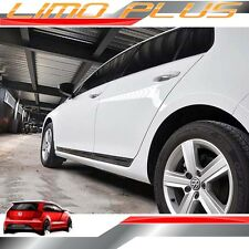 Titan Black Car Body Door Side Molding Trim VW Golf 7 Mk7 GTI 13 - 17 vw157