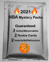 2021 Basketball NBA MYSTERY PACK NBA 3 Hits/2 RCs - Jersey RC Patch Auto