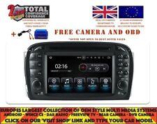 DVD GPS NAVI ANDROID 9.0 8CORE DAB BT MERCEDES BENZ SL CLASS R230 2001-04 8817A
