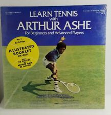 NEW Learn Tennis With Arthur Ashe Lp In Shrink With Insert Book Lt-10 NOS