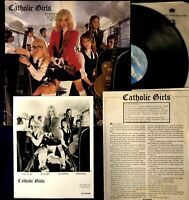 Promo ~ Catholic Girls ~ LP ~ Banned Cover ~ Rare Inserts ~ 1982