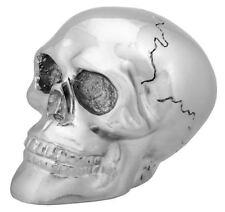 NEW! Chrome Skull Skeleton Shift Shifter Knob Car Auto Resin Gift 6308 Silver