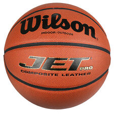 Wilson Jet PRO Composite Leather Basketball Ball WTB1245 Size 7 - IN / OUT