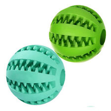 Dog Ball Toys for Pet Tooth Cleaning/Chewing/Playing,IQ Treat Ball Food Di K8E4