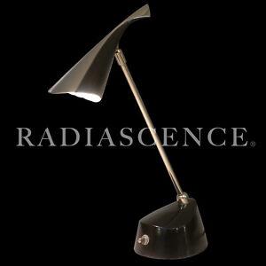 LAUREL ATOMIC MODERN CHROME JET AGE SCULPTURE SPRITE LITE TABLE LAMP 1960'S BARR