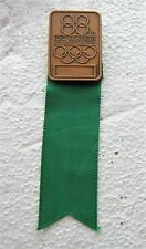 1984 los angeles 88th Olympic session for noc members pin Badge