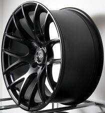 "19"" Miro Type 111 Wheels 19X8.5 +35 / 19X9.5 +40 Black 5x114.3 Concave Rims Set"