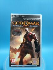 Video Game sony Psp Complete Tbe Pal God Of War Ghost of Sparta / USK 18 Years