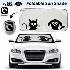 Foldable Jumbo Cartoon Dog&Cat Auto Car Windshield Sun Shade Window Visor Cover