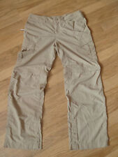 womens THE NORTH FACE cargo pants - size M great condition