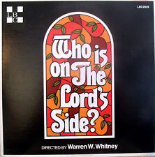 Lancaster Bible College Who Is On The Lord's Side? Gospel LP Album