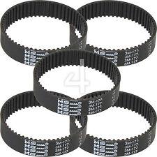 5 x Toothed Rubber Planer Driver Belt for Black & Decker KW715 KW713 BD713 BD715