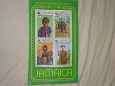 Jamaica 1982 75th Boy Scout Anniversary souvenir sheet, Scott 531a - MNH