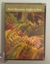 henri rousseau   JUNGLES IN PARIS      DVD NEW    small shrinkwrap tears