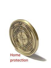 King solomon seal coin Kabbalah 72 Names Of God Fifth Pentacle of Saturn