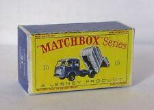 Repro Box Matchbox 1:75 Nr.15 Refuse Truck älter