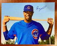 ELOY JIMENEZ Signed Chicago Cubs 11x14 PHOTO Autograph White Sox