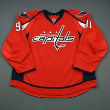 2013-14 Zach Harnden Washington Capitals Game Issued Hockey Jersey MeiGray NHL