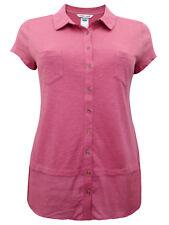 NEW White Stuff Salmon Pink Melinka Pure Cotton Short Sleeve Jersey Shirt 8-14