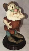 Giuseppe Armani Disney Snow White Doc Dwarf Figurine Sculpture
