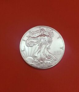 2021 T-1 American silver eagle $1 1oz bullion coin (picked from Us mint rolls)