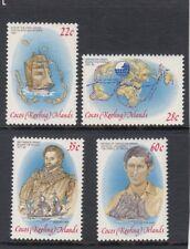 COCOS Islands 1980 OPERATION DRAKE design set  of 4  MNH  -
