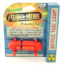 Clean Motion Atomic Hotdog Rear Light Rr USB Red