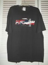"Mens Local T shirt sz. XL   ""Hawaiian Style"" words design on front, Black"