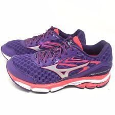 Mizuno Womens Sz 8 M Wave Inspire 12 Running Shoes Sneakers Purple Pink