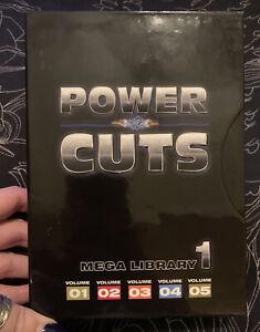 Digital Juice Power Cuts Mega Library 1 Sets 01-05 DVD-Rom Set