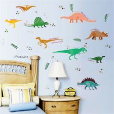DIY Many All Kinds of Dinosaurs Wall Stickers Decals for Children Room UK-1