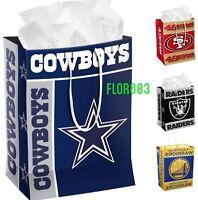 NFL Football Team Gift bag