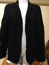 Talula Kent Basic Casual Blazer Black Size 4