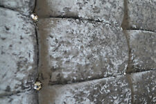 CRUSHED VELVET HEADBOARD LUXURY CUBE CHOOSE YOUR SIZE + COLOUR + FREE P & P!!!