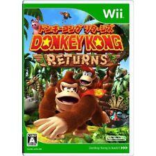 Used Wii Donkey Kong Returns Japan Import
