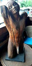 7 Holzskulptur