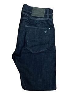 Original 55DSL Pisaux Carrot Slim Fit Indigo Cotton Denim Jeans W30 L32 ES 7950