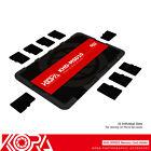 KORA Ultra Slim Credit Card size Memory Card Holder fits 10 Micro SD MSD Cards