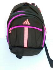 Adidas Black Pink Purple Load Spring Backpack