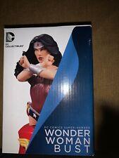 Wonder Woman Bust Dc Comics Super-Heroes Dc Collectibles New 52