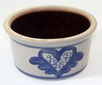 Vintage 1991 BBP Beaumont Brothers Pottery Salt Glazed Stoneware Bowl
