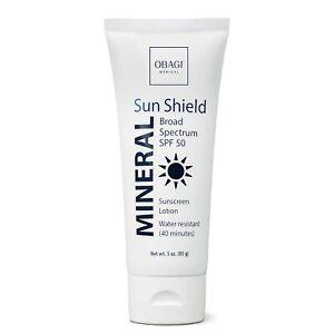 Obagi Medical Sun Shield Mineral Broad Spectrum SPF 50 Sunscreen 3oz, Pack of 1