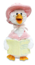 7 Nursery Rymes Cuddle Barn Pink Mother Goose Animated Plush Doll Blue