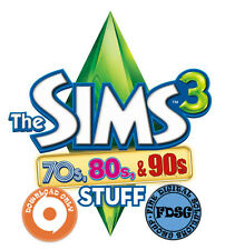 The Sims 3 70s, 80s, & 90s Origin Code CD KEY WORLDWIDE REGION FREE