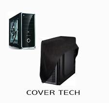 Computer Desktop PC FULL size-Tower WaterProof Dust Cover in blue