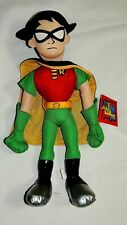 "New With Tag, Comic Teen Titans Robin Plush Doll 19"" Tall"