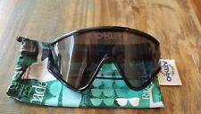 NEW Oakley Eyeshade sunglasses Black Grey Heritage EyeShade 009259-03 123
