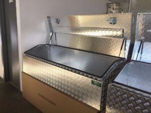 170x60x50cm 2.5mm  Aluminium Toolbox Top Open Ute Trailer Truck Tool box